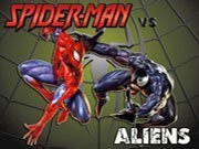 Spiderman vs Aliens