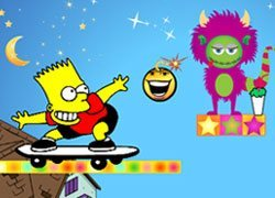 Download Bart Simpson Against the Monsters